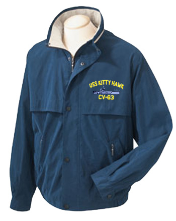 U.S. Navy Ship Microfiber Jackets