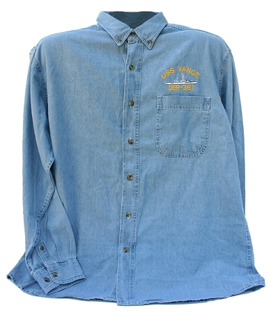 U.S. Navy Ship Denim Work Shirts