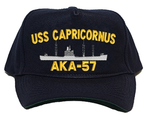 USS Capricornus Navy Ship Hats
