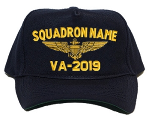 U.S. Navy Squadron Ball Caps