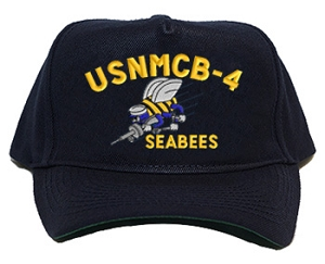 U.S. Navy SEABEE Unit Ball Caps