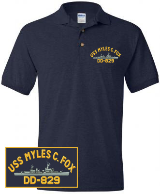U.S. Navy Ship Polo Shirts