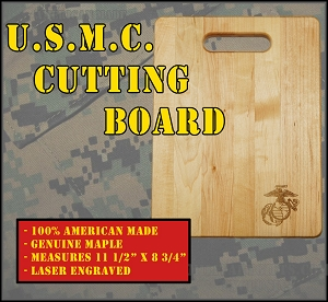 U.S. Marine Corps Cutting Board