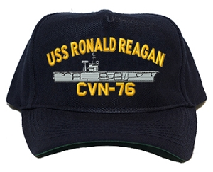 USS Ronald Reagan CVN-76 Navy Ship Hats