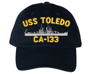 USS Toledo CA-133 Navy Ship Hats