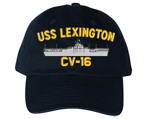 USS Lexington CV-16 Navy Ship Hats