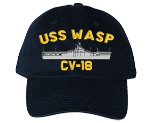 USS Wasp CV-18 Navy Ship Hats