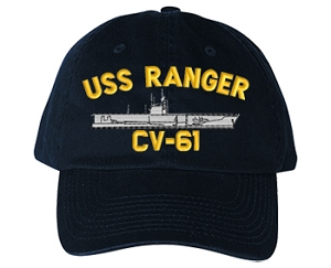 USS Ranger CVA-61, CV-61 Navy Ship Hats