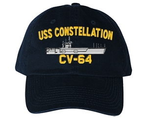 USS Constellation CVA-64, CV-64 Navy Ship Hats