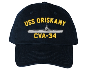 USS Oriskany Navy Ship Hats
