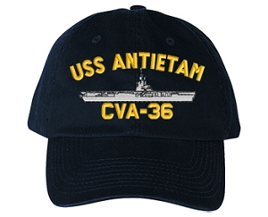 USS Antietam Navy Ship Hats