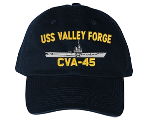 USS Valley Forge CV-45 Navy Ship Hats