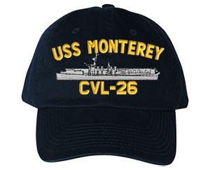 USS Monterey Navy Ship Hats