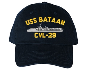 USS Bataan Navy Ship Hats
