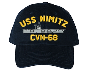 USS Nimitz CVN-68 Ship Hats