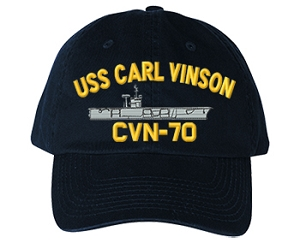 USS Carl Vinson CVN-70 Navy Ship Hats