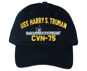 USS Harry S. Truman CVN-75 Navy Ship Hats
