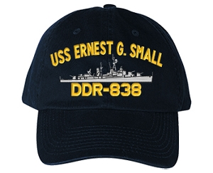 USS Ernest G. Small DD-838 Navy Ship Hats