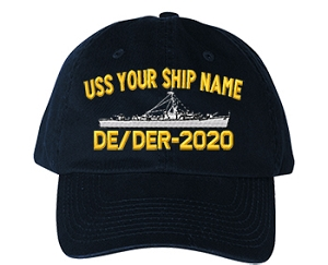 U.S. Navy Destroyer Escort Ship Caps