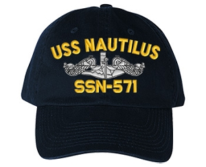 USS Nautilus SSN-571 Navy Ship Hats