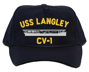 USS Langley CV-1 Navy Ship Hats