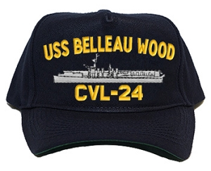 USS Belleau Wood Navy Ship Hats