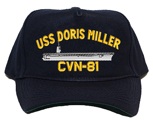 USS Doris Miller CVN-81 Ship Hats