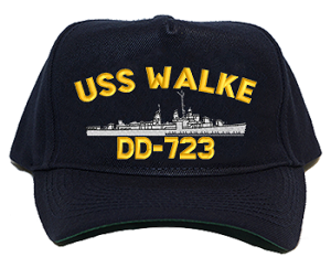 USS Walke DD-723 Navy Ship Hats