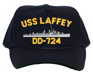 USS Laffey DD-724 Navy Ship Hats