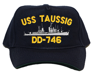 USS Taussig DD-746 Navy Ship Hats