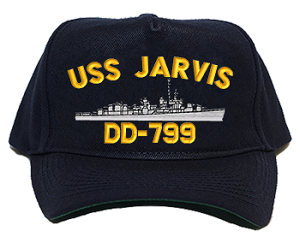 USS Jarvis DD-799 Navy Ship Hats