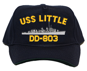 USS Little DD-803 Navy Ship Hats