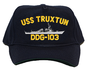 USS Truxtun DDG-103 Navy Ship Hats