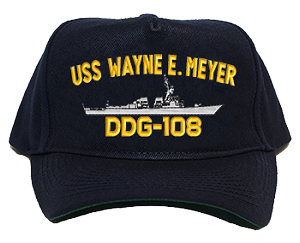 USS Wayne E. Meyer DDG-108 Navy Ship Hats