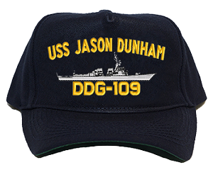USS Jason Dunham DDG-109 Navy Ship Hats