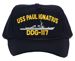 USS Paul Ignatius DDG-117 Navy Ship Hats