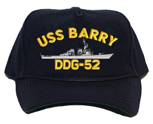 USS Barry DDG-52 Navy Ship Hats