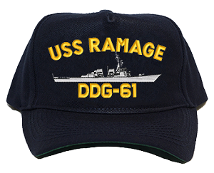 USS Ramage DDG-61 Navy Ship Hats