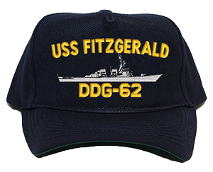 USS Fitzgerald DDG-62 Navy Ship Hats