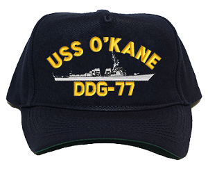 USS O'Kane DDG-77 Navy Ship Hats
