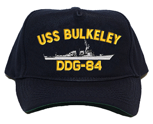 USS Bulkeley DDG-84 Navy Ship Hats