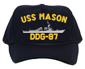 USS Mason DDG-87 Navy Ship Hats