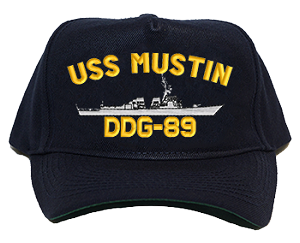 USS Mustin DDG-89 Navy Ship Hats