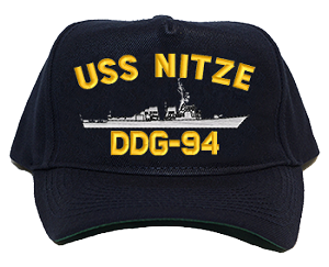 USS Nitze DDG-94 Navy Ship Hats