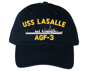 USS LaSalle LPD-3/AGF-3  Navy Ship Hats
