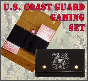 U.S. Coast Guard Gaming Set