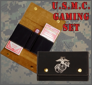 U.S. Marine Corps Gaming Set