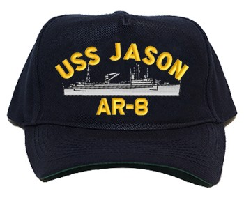 USS Jason AR-8 Navy Ship Hats