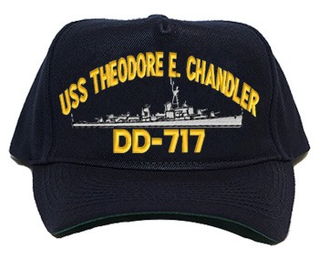 USS Theodore E. Chandler DD-717 Navy Ship Hats