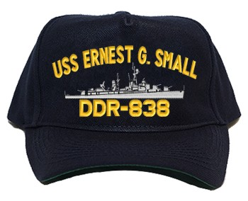 USS Earnest G. Small DD/DDR-838 Regulation Cap